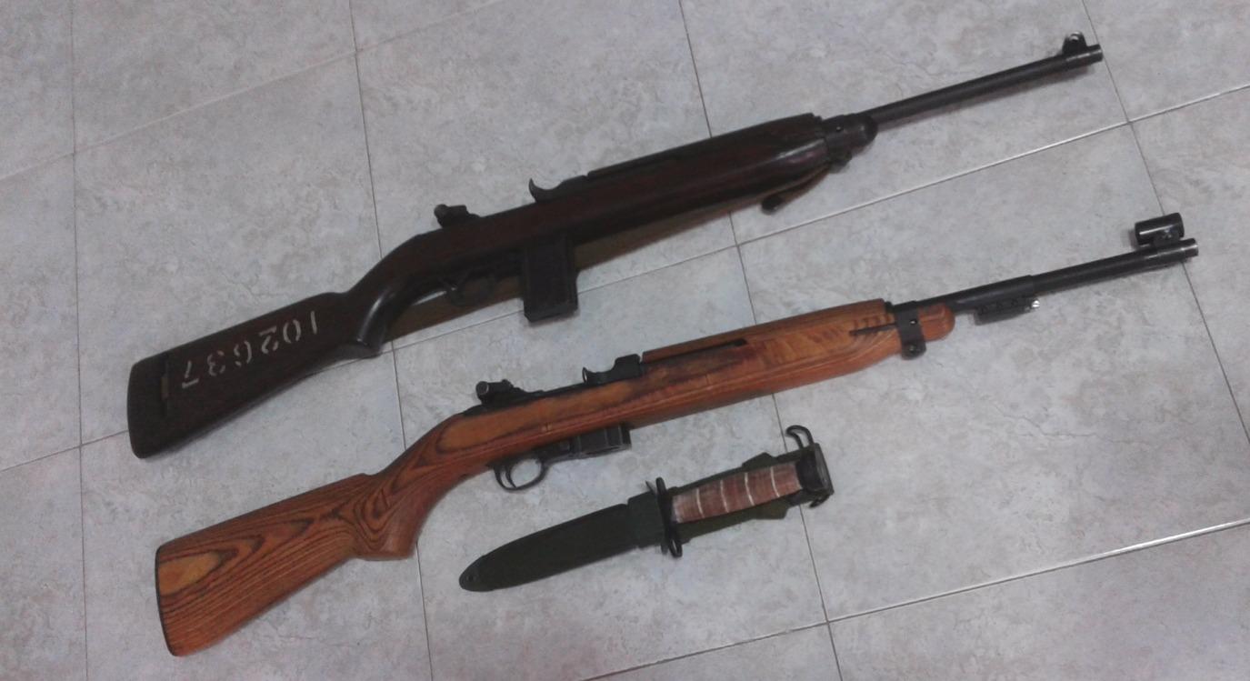 US M1 Carbines