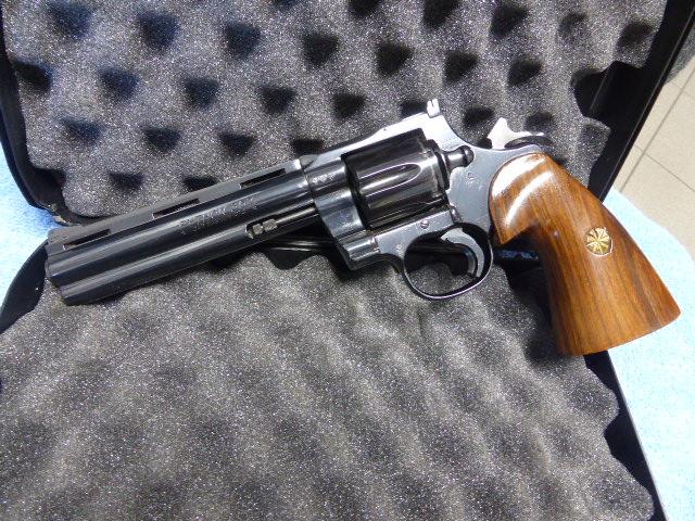 Colt Python Blued