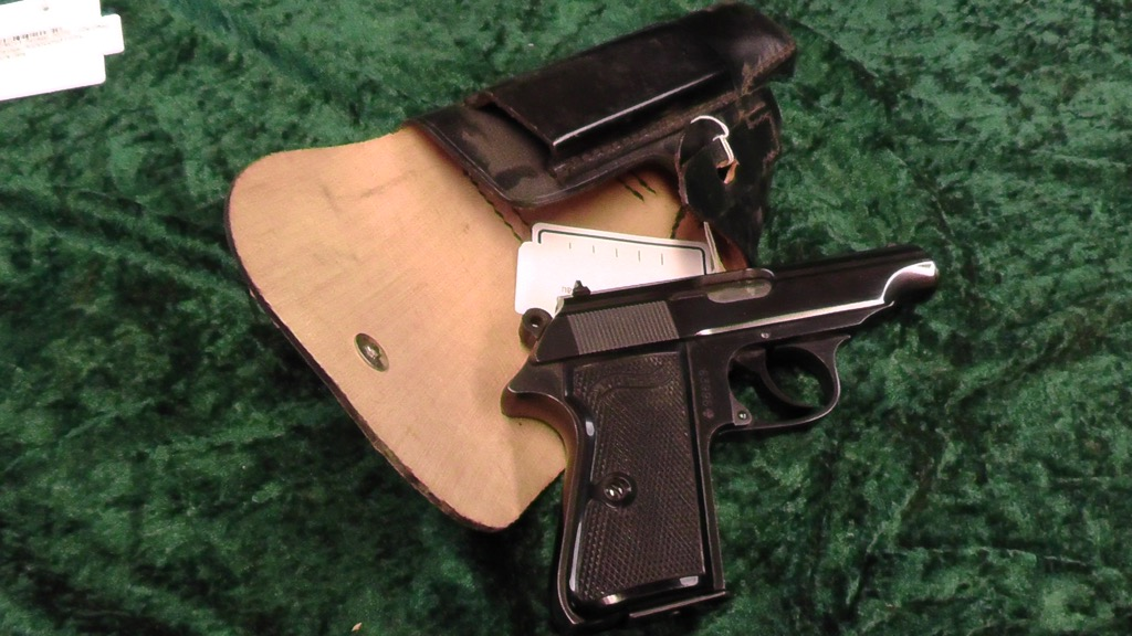 Walther PP 7.65 with holster