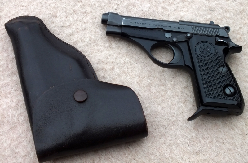 Beretta mod PB .22LR  with holster