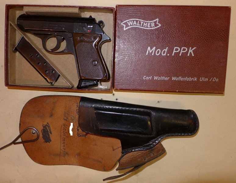 SOLD - Walther PPK cal 7.65Br