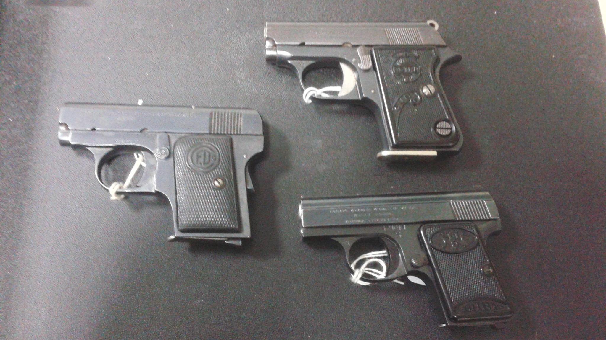 Vest Pocket Pistols