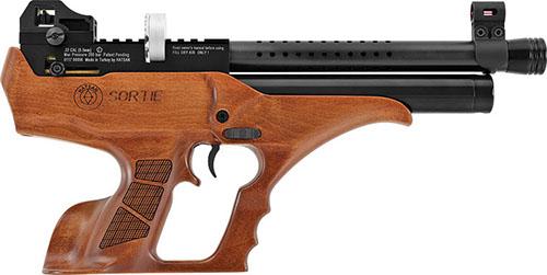 PCP Pistol Sortie Wood Semi-Auto