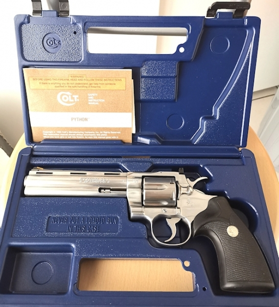 Colt Python Stainless Steel