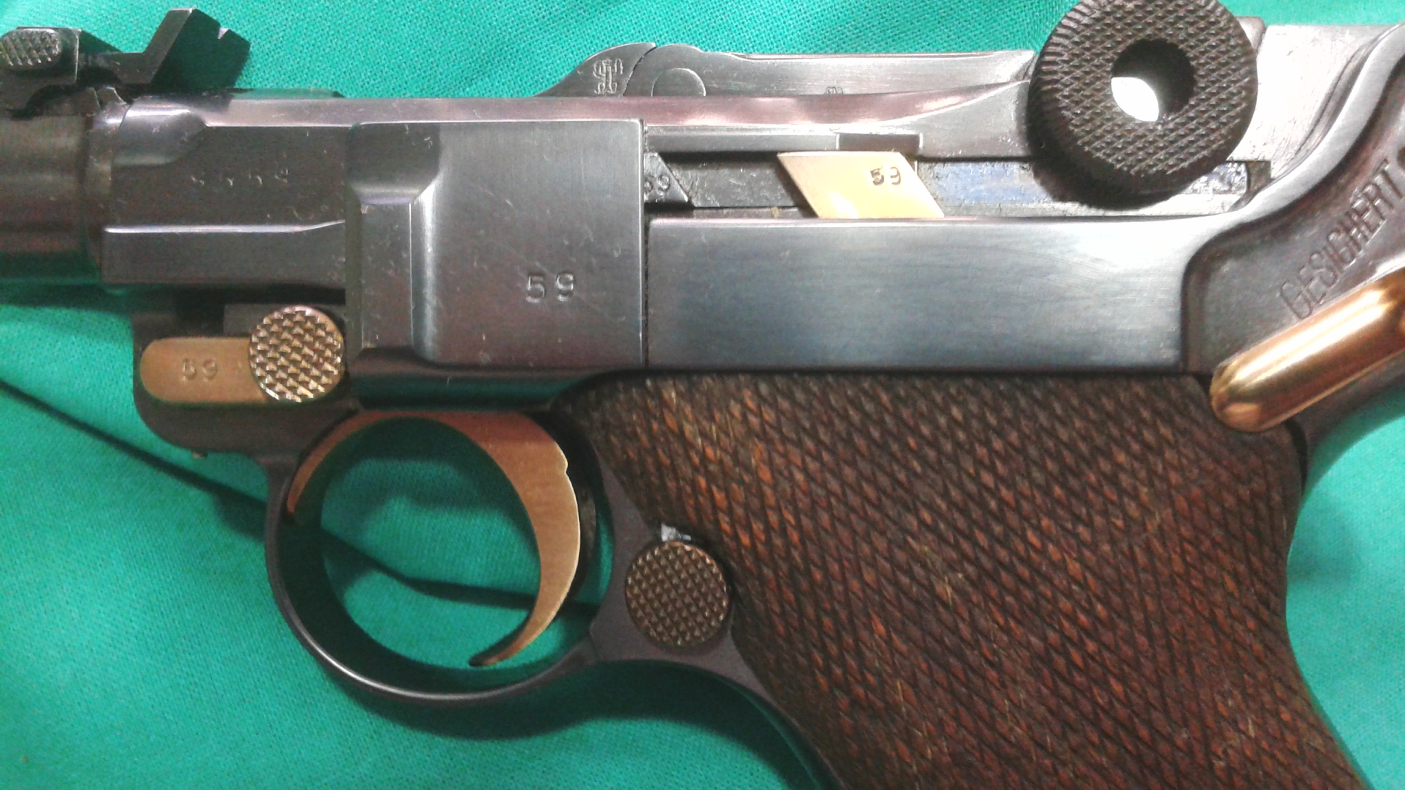 Luger P08 Artillery DWM SOLD