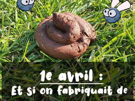 1e avril : Et si on fabriquait des fausses crottes comestibles ?