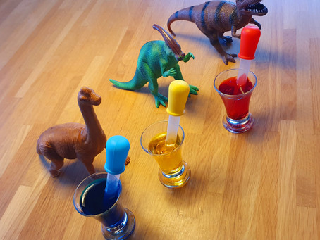 La recette des oeufs de dinosaures pétillants