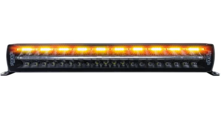"SIBERIA NIGHT GUARD DUAL POSTION  DOUBLE ROW 22"" WARNING LIGHTBAR"