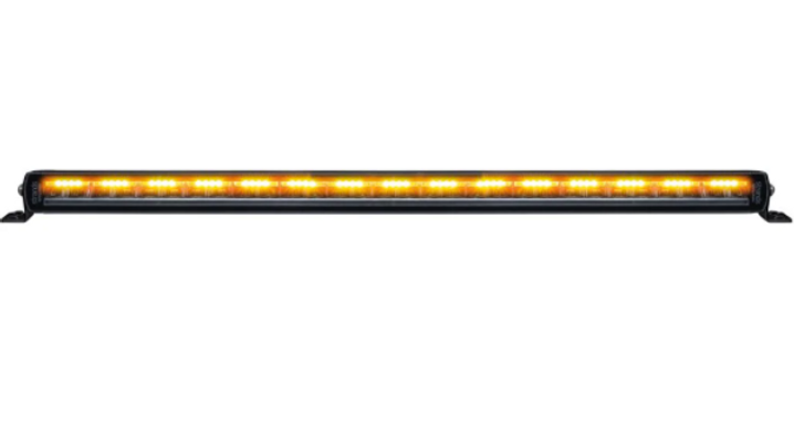 "SIBERIA NIGHT GUARD DUAL POSTION  SINGLE ROW 32"" WARNING LIGHTBAR"