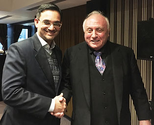 Amit Kohli with Co-Founder of NLP Dr Richad Bandler