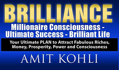 BRILLIANCE - Your Ultimate PLAN, Amit Kohli, Business, CEO, Executive Coach and Consultant