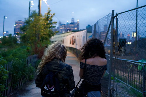 TwoGirls, Brooklyn, 2015