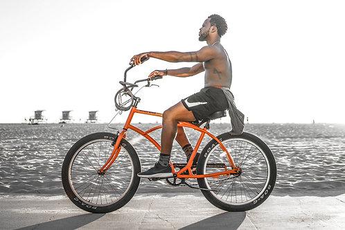 Red Bike, Man