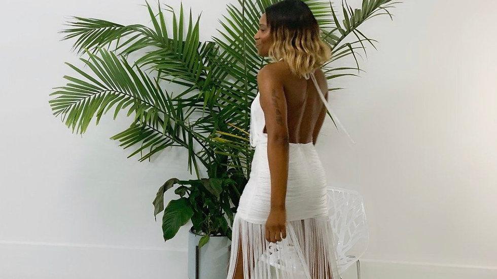 Finge Maxi Dress