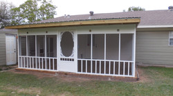 Custom Screen Porches (Porch Covers)