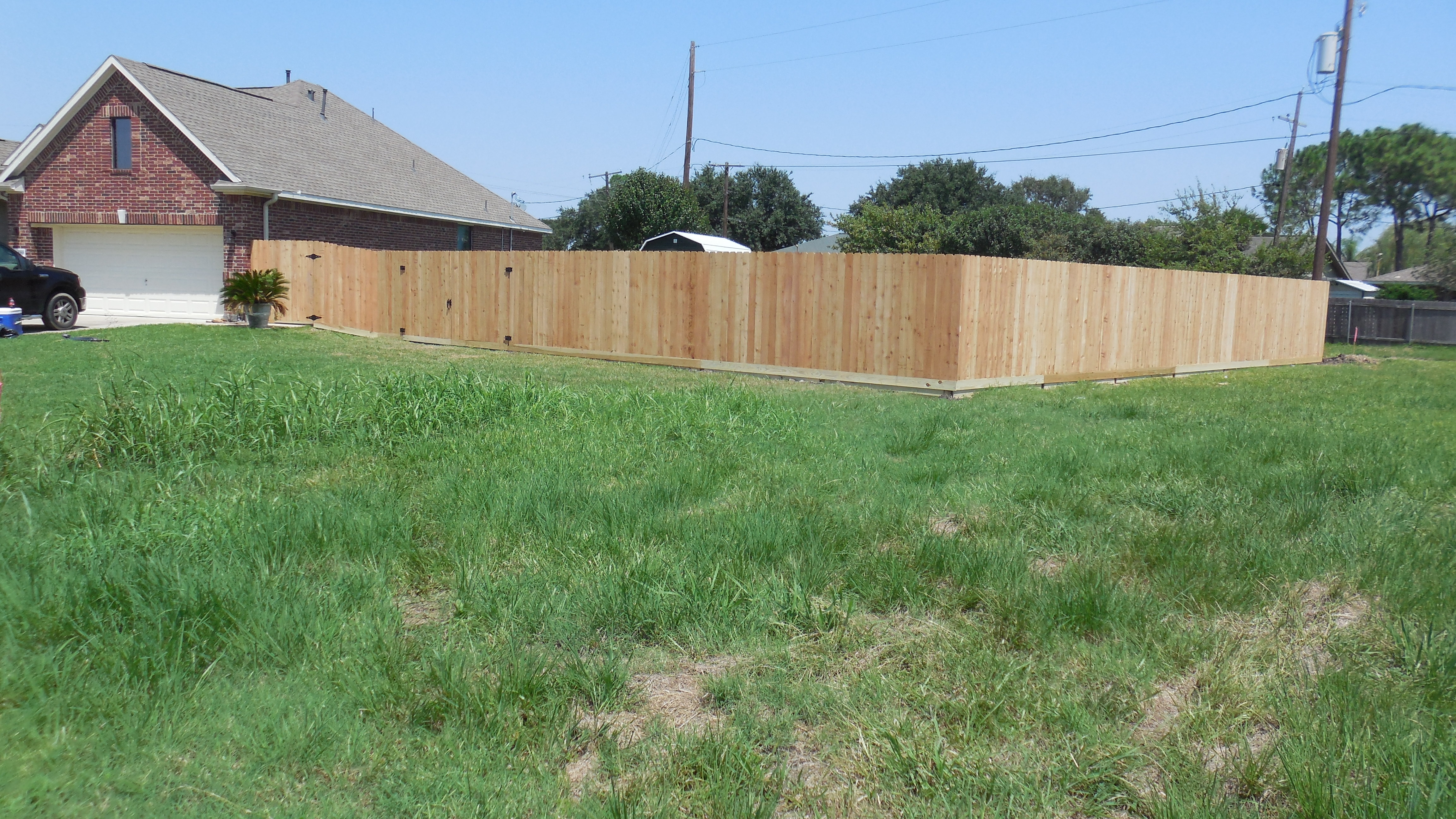 6' & 8' Privacy Fences (Cedar Shown)