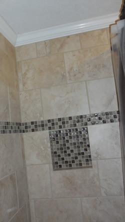 Accent Tile (Shower Surround)