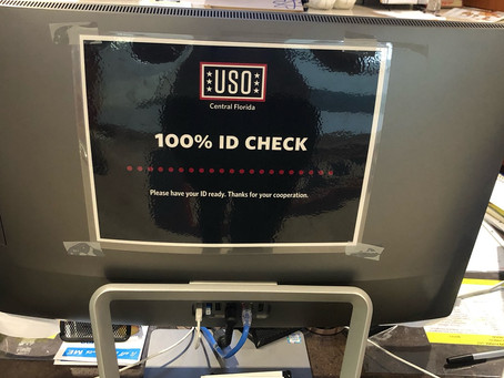 USO Signage Redesign