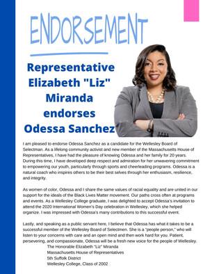 State Representative Liz Miranda
