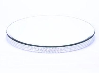 Diamante Edge Mirror Plate