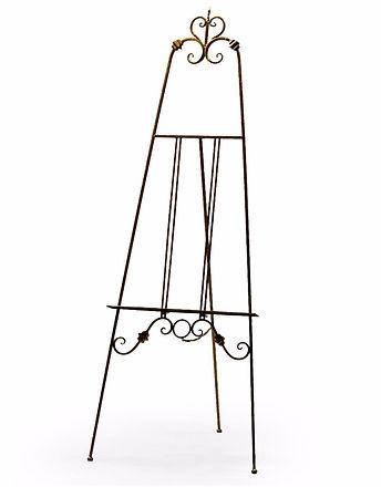 Wedding display easel