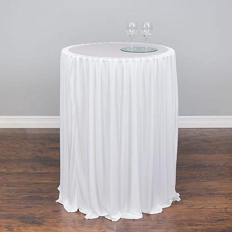 Chiffon-Stretch-poseur table cloth