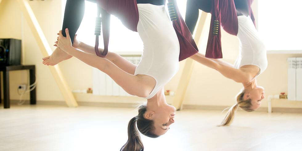 Aug 3rd Aerial Yoga Workshop