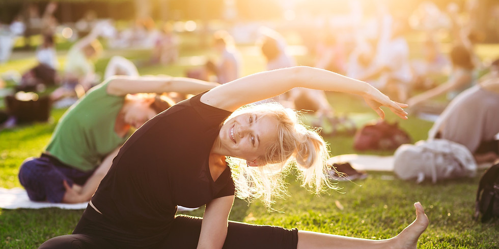 Garden Yoga Class - Flexibility Flow