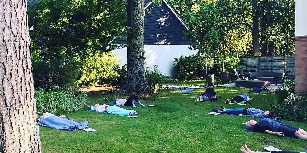 Outdoor Yoga Sat. 9am