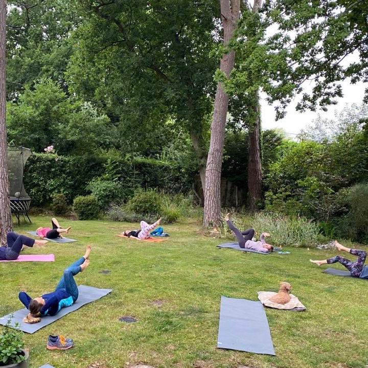 Outdoor Yoga Thur. 9:00am