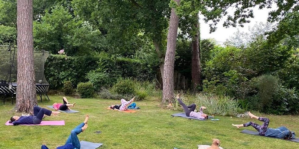 Garden Yoga Class - Balance and Strength