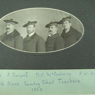 1902 Sunday School Teachers