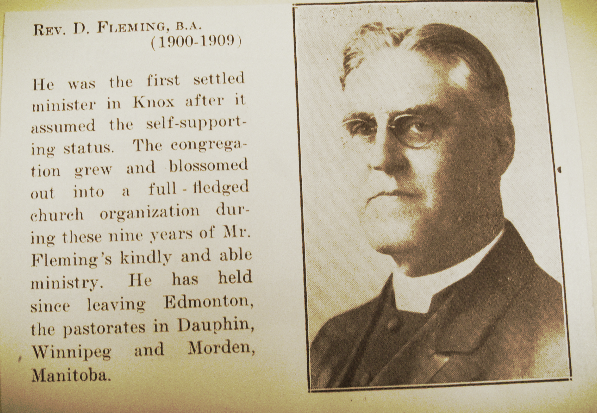 1909 Reverend Fleming