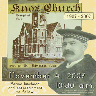 2007 Centennial Celebration Poster