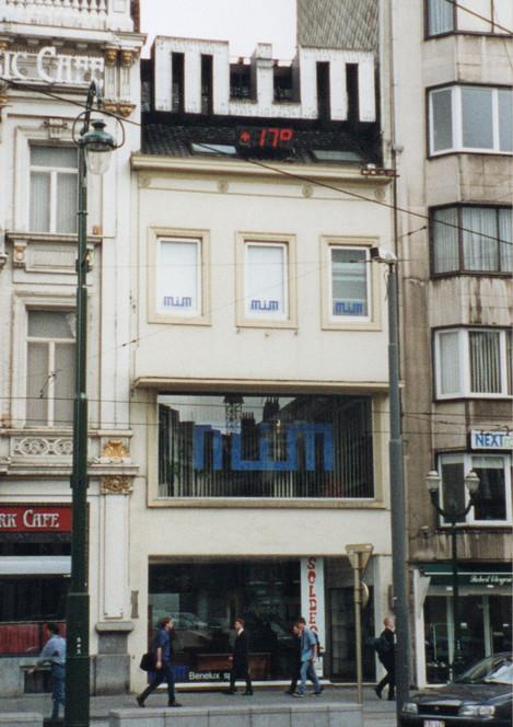 Bruxelles - Place Stephanie