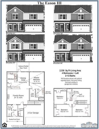 Eason III Floor Plan