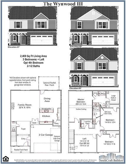 Wynwood III Floor Plan