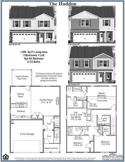 Haddon Floor Plan