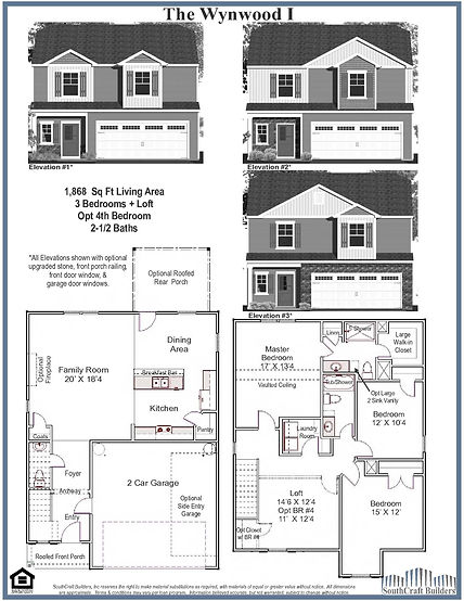 Wynwood I Floor Plan