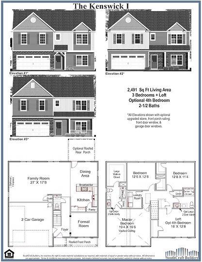 Kenswick Floor Plan
