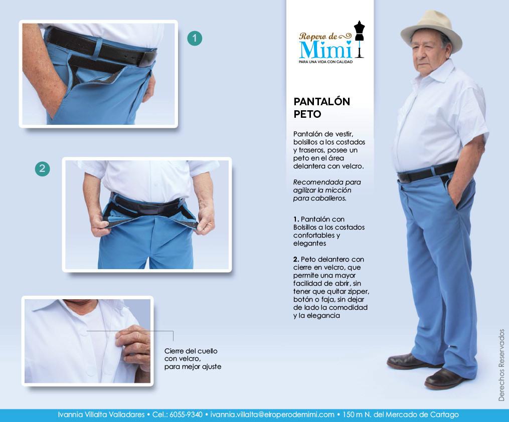 Pantalón Peto
