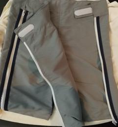 Detalle pantaloneta abierta