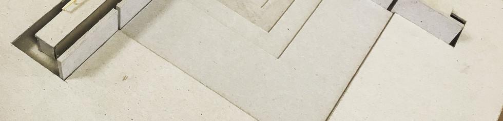 Maquette blanche