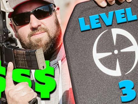 LA Police Gear Level 3 and 4 Armor Plates | Ballistic Testing!