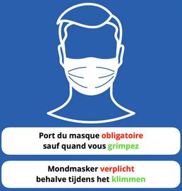 Port du masque à BMC