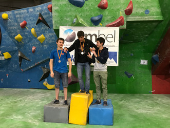 Belgian (Youth) Boulder Cup 1