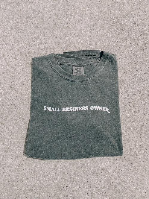Pepper Small Business Owner T-shirt