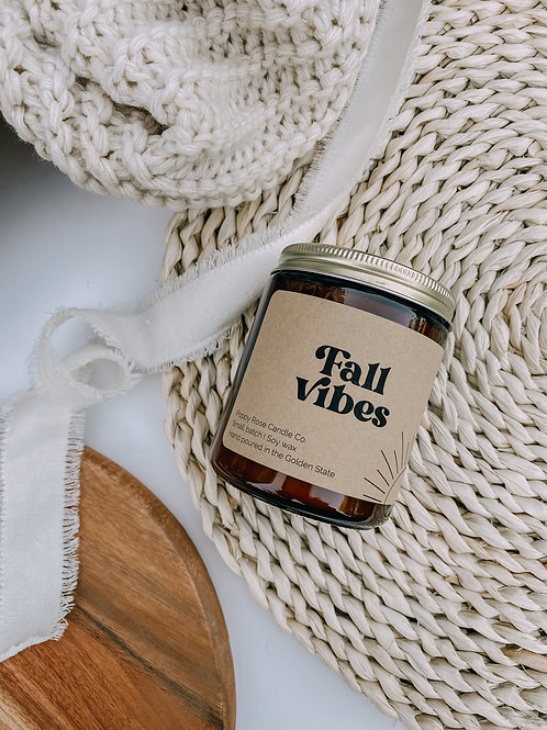 Fall Vibes Candle
