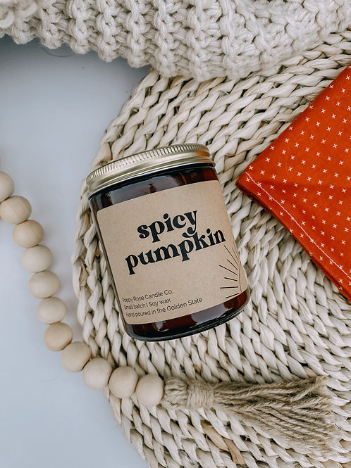 Spicy Pumpkin Candle