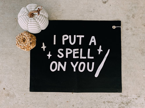 I Put A Spell On You Banner